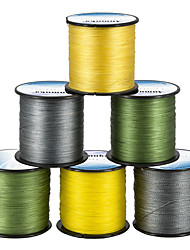 cheap -PE Braided Line / Dyneema / Superline Fishing Line 500M / 550 Yards PE 80LB 70LB 60LB 0.1-0.5 mm Jigging Sea Fishing Fly Fishing / Bait Casting / Ice Fishing / Spinning / Jigging Fishing