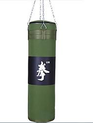 cheap -Punching Bag Sandbag For Taekwondo Boxing Form Fit Cloth Oxford cloth black green