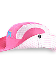 cheap -Unisex Basic Polyester Sun Hat-Color Block All Seasons Light Blue Purple Blushing Pink