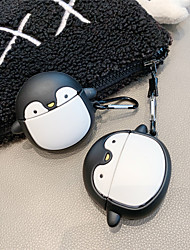 cheap -Case for Apple AirPods 1st generation 2nd generation universal Cute Cartoon-shaped matte soft silicone material Bluetooth headset protective case