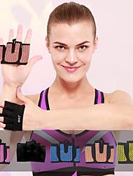 cheap -AOLIKES Workout Gloves Sports Lycra Silicon Exercise & Fitness Weightlifting Boxing Training Durable Full Palm Protection & Extra Grip Breathable For Men Women