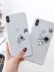 cheap -Case for Apple scene map iPhone 11 X XS XR XS Max 8 cute cartoon pattern high transparent thickened TPU material all-inclusive mobile phone case GJD