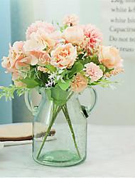 cheap -1 Piece Artificial Flower Vivid Sweet Rose Flower Decorative Artificial Plant