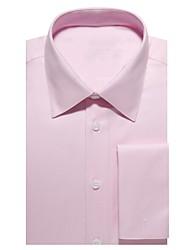 Недорогие -светло-розовая хлопковая рубашка из твила