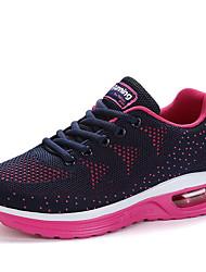 baratos -Homens Sapatos Confortáveis Couro Ecológico Inverno Tênis Corrida Preto / Preto / Vermelho / Laranja