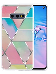 cheap -Case For Samsung Galaxy S9 / S9 Plus / S8 Plus Ultra-thin / Pattern Back Cover Geometric Pattern / Marble TPU