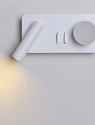 cheap -New Modern Wall Lamp Bedroom Bedside Wall Lamp Corridor Lamp Dressing Room Hotel Rectangular Led Wall Lamp