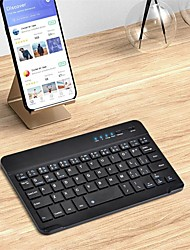 cheap -Bluetooth Office Keyboard Frosted / New Design For Android OS / iOS / MAC Bluetooth3.0