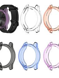 cheap -Protective Frame Case For Garmin Vivomove 3 / Garmin move 3 Case TPU Smart Shockproof Shell Watchcase