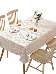 cheap -Classic polyester fibre Cube Table Cloth Floral Flower Table Decorations