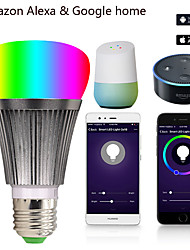 cheap -V3 7W LED Intelligent WiFi Bulb Alexa Voice Bulb Mobile Phone App Remote Control Color Changing Dimming Bulb
