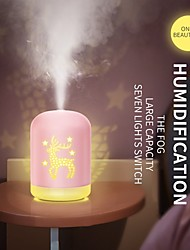 cheap -Air Humidifier 340ML Ultrasonic Aromatherapy USB Cool Mist Maker Humidifier Cute Aroma Essential Oil Diffuser