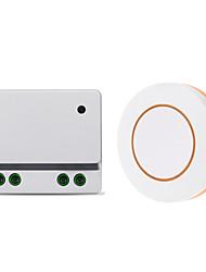 Недорогие -ac110v ac220v ac85v-250v 1-канальный релейный переключатель / 10a релейный приемник / приемник обучающего кода для освещения / светодиодное питание выключено / 433 МГц