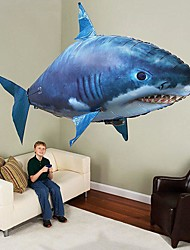 cheap -RC Shark Remote Control Animal Flying Shark Clown Fish Inflatable Realistic Movement Air Swimmer PP+ABS For All Boys' Girls' 1 pcs