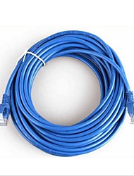 cheap -20 Meters RJ-45 Blue Ethernet Internet LAN CAT5e Network Cable for Computer Modem Router
