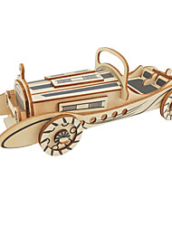 cheap -3D Puzzle Wooden Puzzle Car Bus Vintage Car Simulation Hand-made Wooden 39-124 pcs Motorcycle Construction Truck Set Classic Car Kid's Adults' All Toy Gift