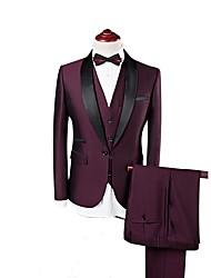 cheap -Burgundy custom tuxedo