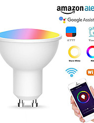 cheap -Mobile App Remote Control WiFi Bulb Alexa Google Home Voice Control Smart Bulb