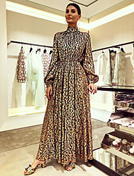 cheap -Women's Sheath Dress - Geometric Rainbow S M L XL