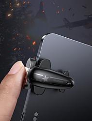 Недорогие -Baseus 2PC управления игровым триггером для игр Pubg Shooter стрелка кнопка стрельбы игровой джойстик для планшетов Ipad Pro Xiaomi Huawei