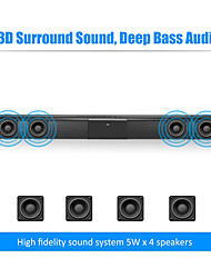 cheap -TV Sound Bar Wired and Wireless Bluetooth Home Surround SoundBar for PC Theater TV Speaker