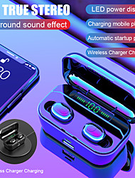 cheap -G6s Pro TWS 8D Stereo Wireless Charging Earbuds Handsfree Sports Bass Headphones  LED Power Display Bluetooth 5.0 IPX7 Waterproof Headset with 3500mAh Power Bank for Mobile Phones