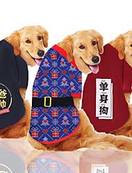abordables -Chien Manteaux Hiver Vêtements pour Chien Chaud Noir Orange Rouge Anniversaire Costume Husky Labrador Malamute d'Alaska Mélange Poly / Coton Décontracté / Quotidien Garder au chaud XXXL XXXXXL 7XL 9XL