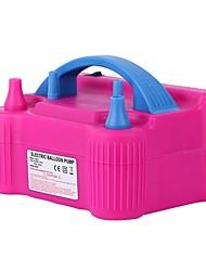 Недорогие -электрический баллонный насос, переносное двойное сопло 220-240 В 600 Вт электрический баллонный насос, нагнетатель воздуха, удлинитель шланга и инструмент для связывания баллонов, зажимы для цветов,