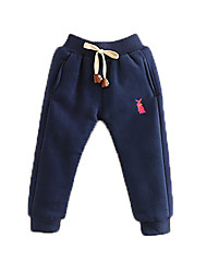 cheap -Baby Boys' Basic Print / Solid Colored Pants Light gray