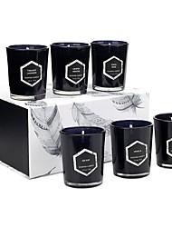 abordables -eucalyptus premium&bougies parfumées à la main à la camomille, brûlure de 15 heures, longue durée, très parfumées, bougies de soja entièrement naturelles | Bougie relaxante d'aromathérapie avec
