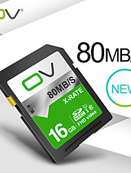 cheap -OV 16GB SD Card Memory Card Class10 Read Speed 80MB/s camera