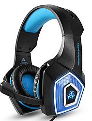 cheap -ONIKUMA Hunterspider V1 PS4 Gaming Headset Casque PC Stereo Earphones Headphones with Microphone LED Lights for Xbox One