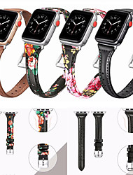 cheap -Slim Leather Watch Band For Apple Watch Series 6/SE/5/4/3/2/1 Replaceable Bracelet Wrist Strap Wristband 38/40mm 42/44mm