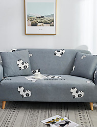 cheap -Heart Print Dustproof All-powerful Slipcovers Stretch Sofa Cover Super Soft Fabric Couch Cover with One Free Pillow Case