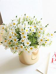 Недорогие -1 шт искусственный цветок хризантемы домой свадьба украшение партии