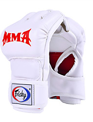 cheap -Boxing Bag Gloves Boxing Training Gloves For Boxing Fingerless Gloves Wearable PU(Polyurethane) Unisex - White Black Red