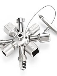 Недорогие -многофункциональный аварийный ключ с ключом 10 в 1