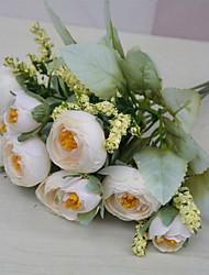 Недорогие -имитация камелии бутон свадьба с цветами в руках в европейском стиле украшения дома украшения 1 палка