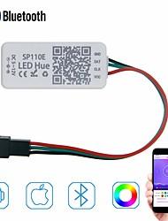 cheap -0.2m Remote Controls 0 LEDs 1pc Random Color Multi Color Christmas New Year's APP Control 12 V 5 V
