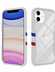 cheap -TGVi'S Sports Fallproof Anti Shockproof Mobile Case For Apple iPhone 11 / iPhone 11 Pro / iPhone 11 Pro Max Shockproof / IMD Full Body Cases Transparent TPU