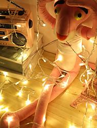 cheap -6 meters 40 led small lantern flashing string lights starry gift box bedroom birthday Christmas tree decoration-Battery Light