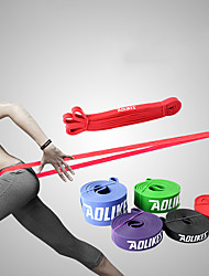 cheap -AOLIKES Exercise Resistance Bands 1 pcs Sports Emulsion Yoga Exercise & Fitness Gym Workout Durable Support For Men Women