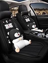 Недорогие -мультипликационная подушка для сиденья автомобиля всесезонный gm чехол для сиденья полный объемный чехол для подушки сиденья автомобиля совместимый с подушкой безопасности подушки сиденья