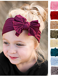 cheap -Toddler / Infant Boys' / Girls' Active / Sweet Solid Colored Bow Nylon Hair Accessories Black / Wine / Light Blue One-Size