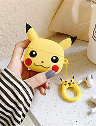 cheap -Cute Cartoon Pikachue Transparent Hard Case For Apple Airpods Pro 3 Wireless Bluetooth Headphones Earphones Protection Cover Skin