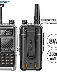 cheap -BAOFENG BF-UVB3 PLUS Anolog Emergency Alarm / PC Software Programmable / Voice Prompt 5KM-10KM 5KM-10KM 3800 mAh 8 W Walkie Talkie Two Way Radio