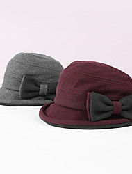 cheap -Polyester / Polyamide Hats / Headwear with Bowknot 1 pc Casual / Daily Wear Headpiece