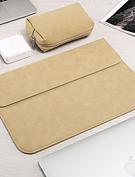 cheap -10 Inch Laptop / 11.6 Inch Laptop / 12 Inch Laptop Sleeve PU Leather Solid Colored Unisex Water Proof Shock Proof