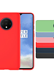 cheap -Soft Liquid Silicon Phone Case Cover For One Plus 7T Pro OnePlus 7 Pro Ultra Thin Shockproof 360 Degree Full Protective Back Case