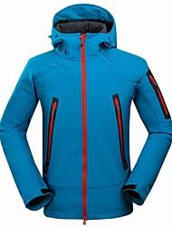 cheap -Bao Jeesport Men's Ski Jacket Snow Jacket Waterproof Windproof Warm Breathability Winter Windbreaker for Camping / Hiking Winter Sports / Solid Colored